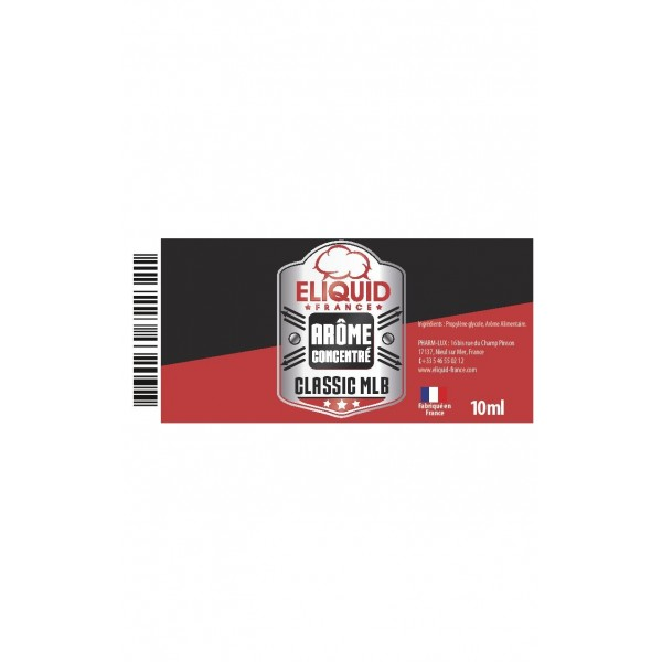 Concentré MLB Eliquid France 10ml
