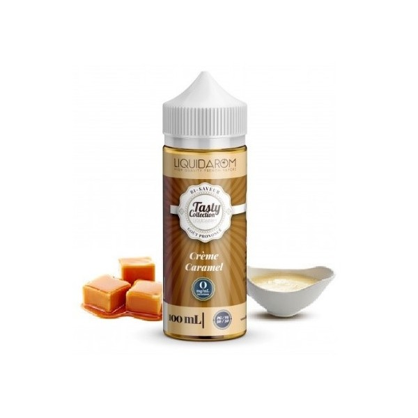 Crème Caramel Tasty Collection  100 ml/0 mg